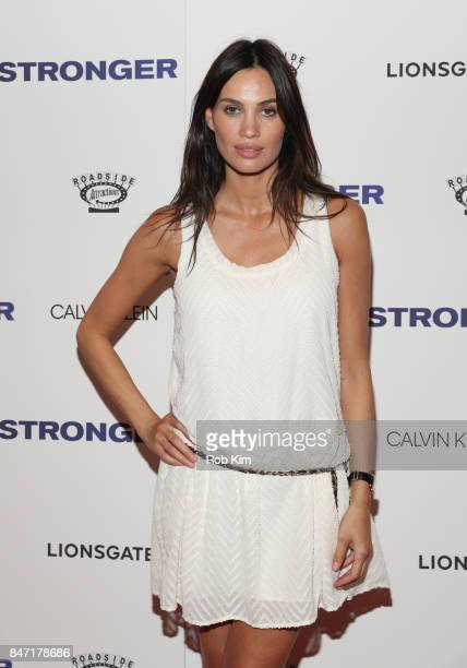 Alina Puscau attends the premiere of 'Stronger' at Walter Reade Theater on September 14 2017 in New York City