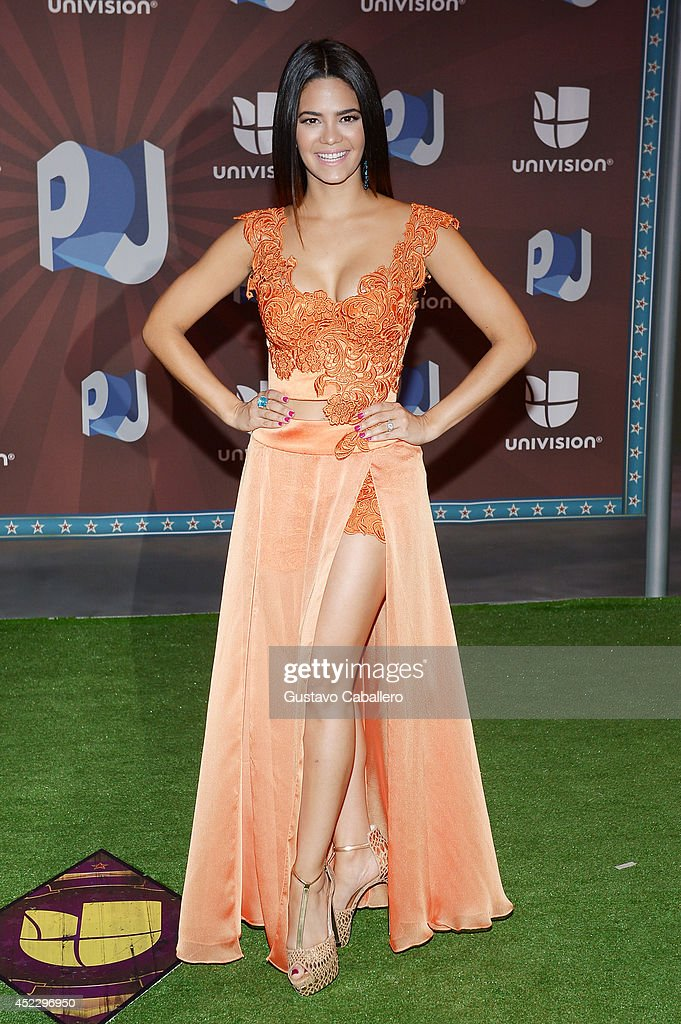 Alina Robert attends the Premios Juventud 2014 at The BankUnited Center on July 17, 2014 in Coral Gables, Florida.