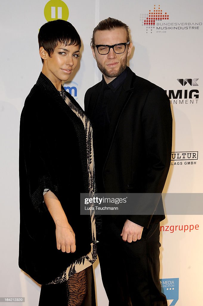 Alina Sueggeler and Andreas Weizel attend the 'Musik Hilft' Charity Dinner at the Grill Royal on March 20, 2013 in Berlin, Germany.