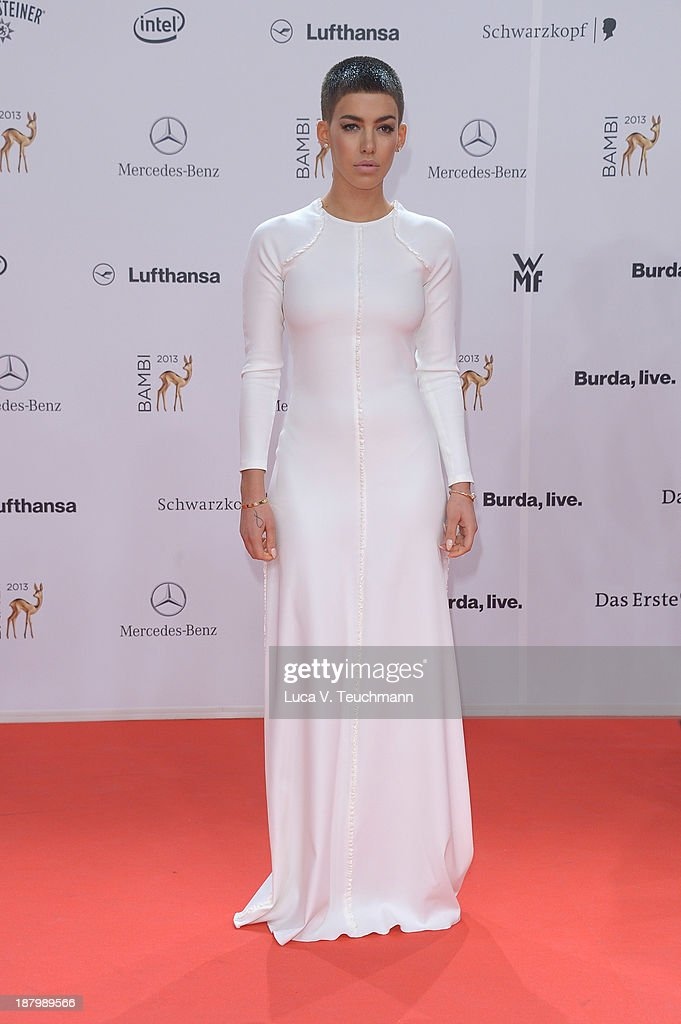 Alina Sueggeler attends the Bambi Awards 2013 at Stage Theater on November 14, 2013 in Berlin, Germany.