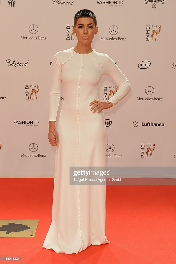 <a gi-track='captionPersonalityLinkClicked' href=/galleries/search?phrase=Alina+Sueggeler&family=editorial&specificpeople=7537575 ng-click='$event.stopPropagation()'>Alina Sueggeler</a> attends the Bambi Awards 2013 at Stage Theater on November 14, 2013 in Berlin, Germany.