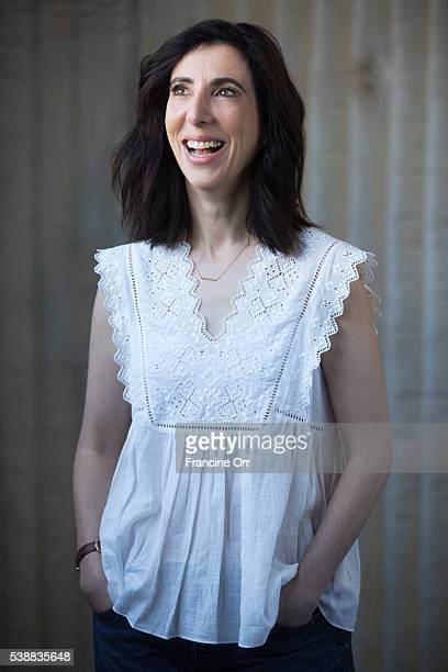 Aline Brosh McKenna creator of 'Crazy ExGirlfriend' is photographed for Los Angeles Times on April 18 2016 in Los Angeles California PUBLISHED IMAGE...