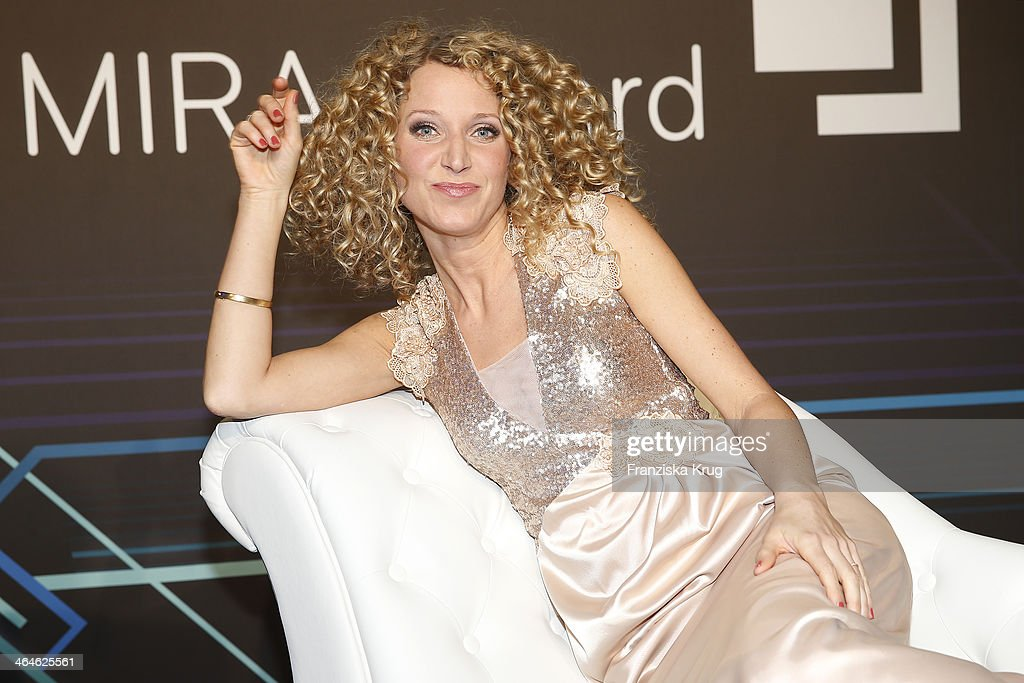 Aline von Drateln attends the Mira Award 2014 on January 23 2014 in Berlin Germany