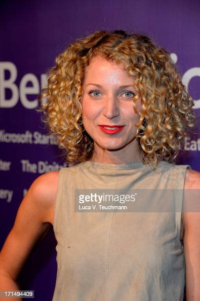 Aline von Drateln attends the reception of the new 'Microsoft Center' at Unter den Linden 17 on June 25 2013 in Berlin Germany
