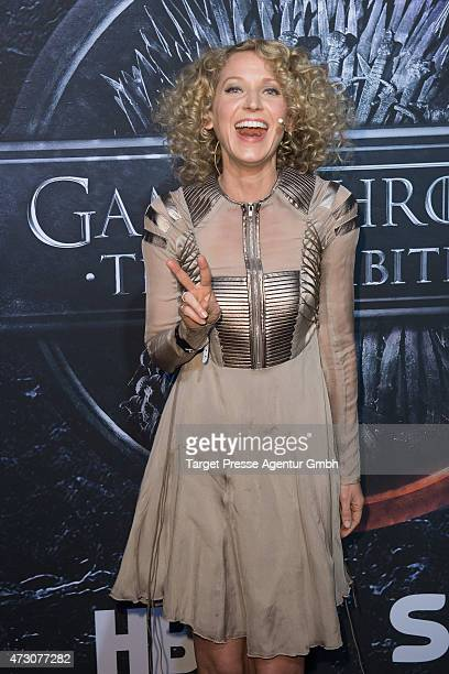 Aline von Drateln the pre opening party of the exhibition 'Game of Thrones Die Ausstellung' on May 12 2015 in Berlin Germany