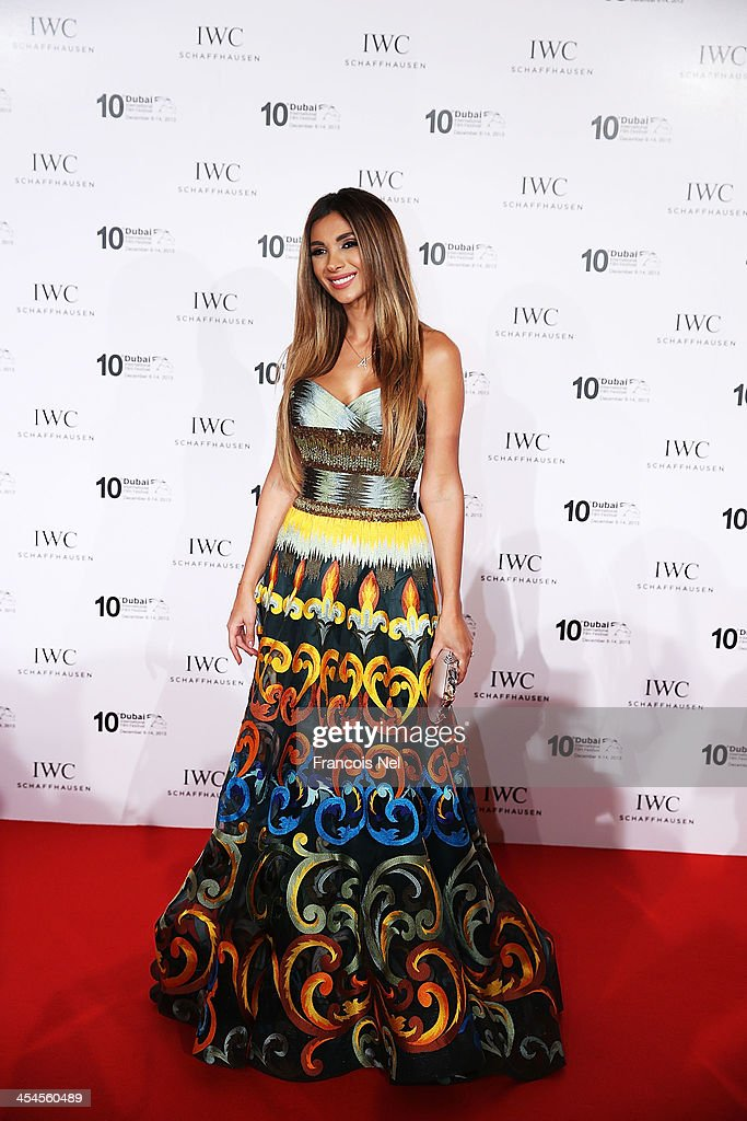 Aline Watfa attends the IWC Schaffhausen For The Love Of Cinema IWC Filmmakers Award 2013 at One And Only Royal Mirage on December 7, 2013 in Dubai, United Arab Emirates.