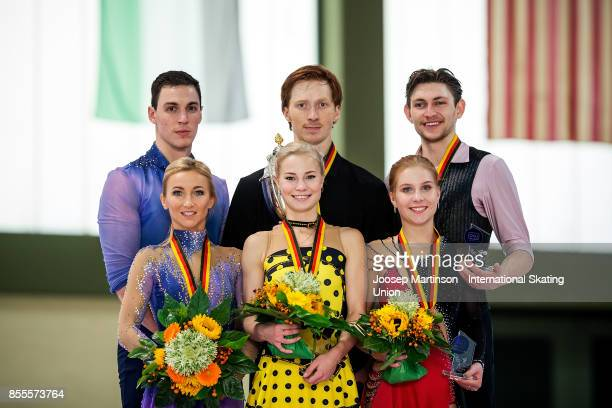 Aliona Savchenko and Bruno Massot of Germany Evgenia Tarasova and Vladimir Morozov of Russia Ekaterina Alexandrovskaya and Harley Windsor of...