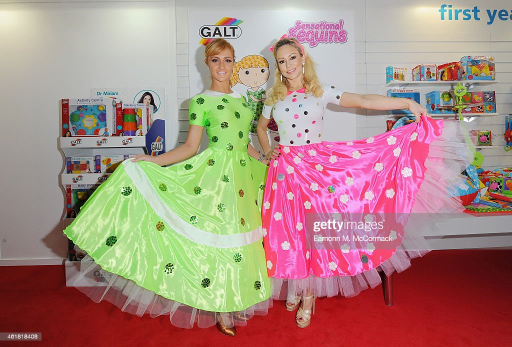 Dazzling Dancers Kristina Rihanoff And Aliona Vilani Make Sensational Appearance At Toy Fair 2015