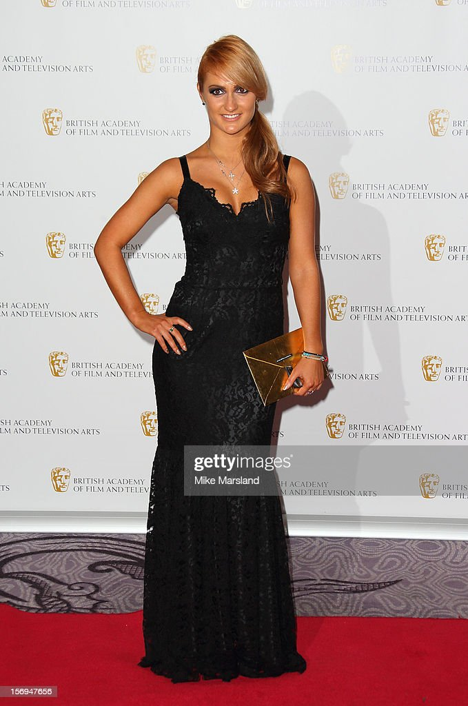 Aliona Villani attends the British Academy Children's Awards at London Hilton on November 25, 2012 in London, England.