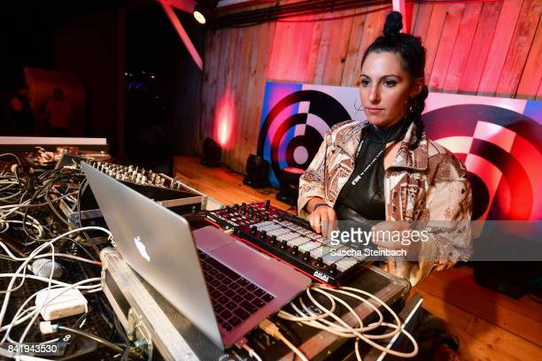 Alis performs during the Bread Butter by Zalando at Badeschiff arena Berlin on September 2 2017 in Berlin Germany