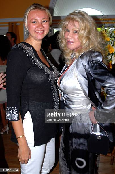 Alisa Cawley and Jocelyn Wildenstein during Jason Binn and Hamptons Magazine 6th Annual Memorial Day Celebration at Private Hampton Residence in...
