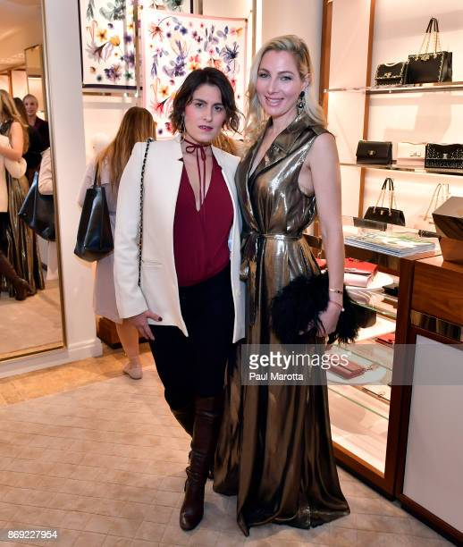 Alisa Kapinos Goldberg attends the Opening of the Salvatore Ferragamo Copley Place store on November 2 2017 in Boston Massachusetts