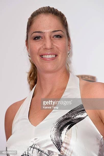 Alisa Kleybanova attends the WTA PreWimbledon party at Kensington Roof Gardens on June 19 2014 in London England