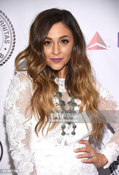 Alisan Porter attends as the Friars Club Honors Tony Bennett With The Entertainment Icon Award Arrivals at New York Sheraton Hotel Tower on June 20...