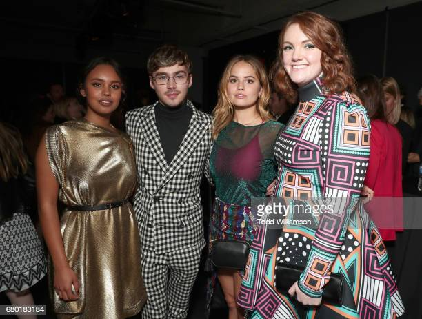 Alisha Boe Miles Heizer Debby Ryan and Shannon Purser attend the Netflix FYSEE KickOff Event at Netflix FYSee Space on May 7 2017 in Beverly Hills...