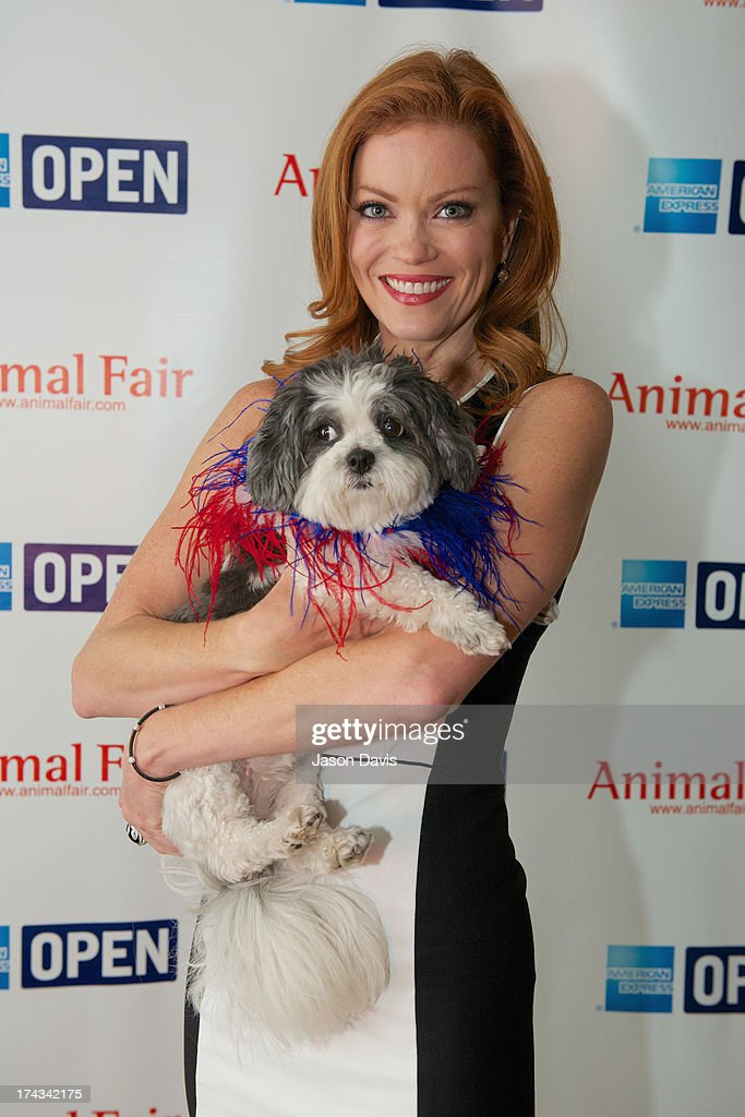 Alisha Davis attends the AnimalFair.com Bark Breakfast Benefiting K9s For Warriors at the Loews Vanderbilt Hotel on July 24, 2013 in Nashville, Tennessee.