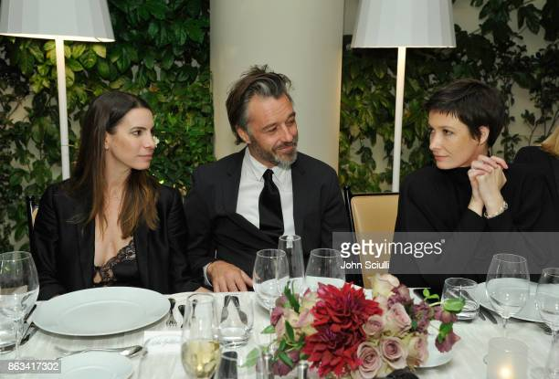 Alisha Goldstein James Gooding and attend THE OUTNET x Amber Valletta at Waldorf Astoria Beverly Hills on October 19 2017 in Beverly Hills California