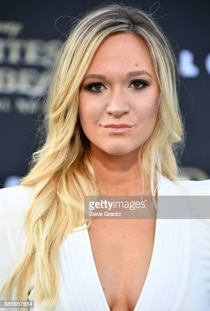 Alisha Marie arrives at the Premiere Of Disney's 'Pirates Of The Caribbean Dead Men Tell No Tales' at Dolby Theatre on May 18 2017 in Hollywood...