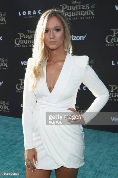 """Alisha Marie at the Premiere of Disney's and Jerry Bruckheimer Films' """"Pirates of the Caribbean Dead Men Tell No Tales"""" at the Dolby Theatre in..."""