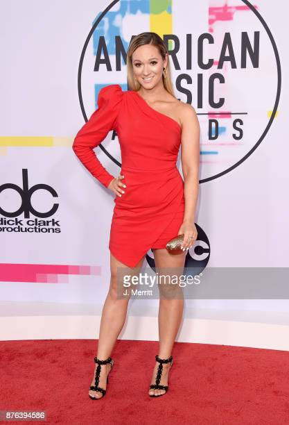 Alisha Marie attends 2017 American Music Awards at Microsoft Theater on November 19 2017 in Los Angeles California