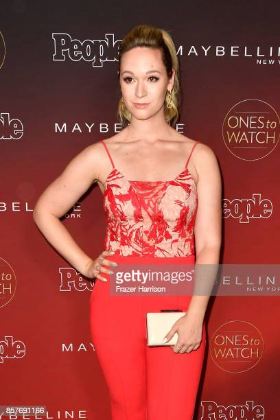Alisha Marie attends People's 'Ones To Watch' at NeueHouse Hollywood on October 4 2017 in Los Angeles California