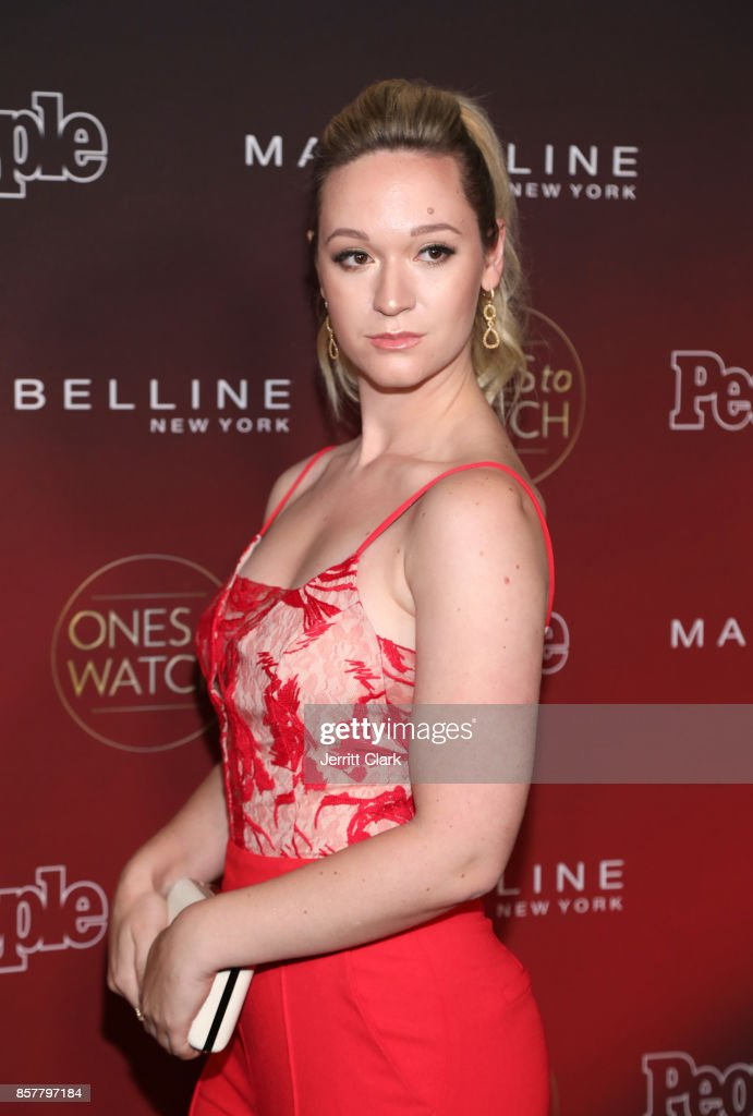 Alisha Marie attends People's 'Ones To Watch' at NeueHouse Hollywood on October 4, 2017 in Los Angeles, California.