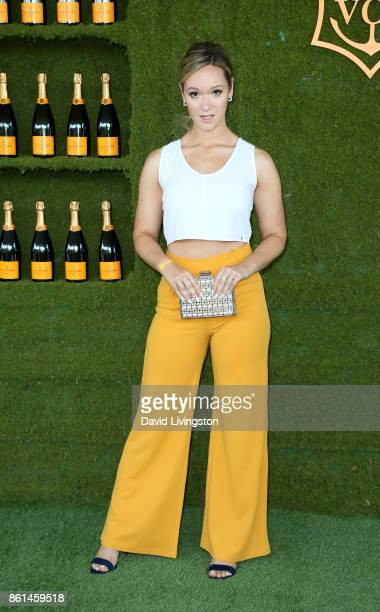 Alisha Marie attends the 8th Annual Veuve Clicquot Polo Classic at Will Rogers State Historic Park on October 14 2017 in Pacific Palisades California
