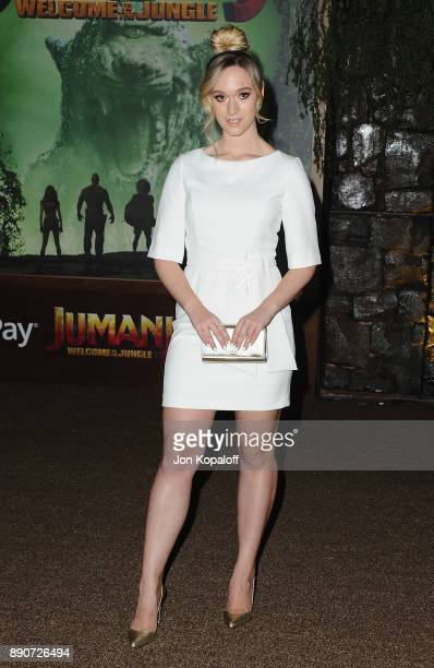 Alisha Marie attends the Los Angeles Premiere 'Jumanji Welcome To The Jungle' at the TCL Chinese Theatre on December 11 2017 in Hollywood California
