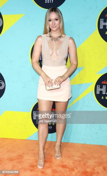Alisha Marie attends the Nickelodeon Halo Awards 2017 at Pier 36 on November 4 2017 in New York City
