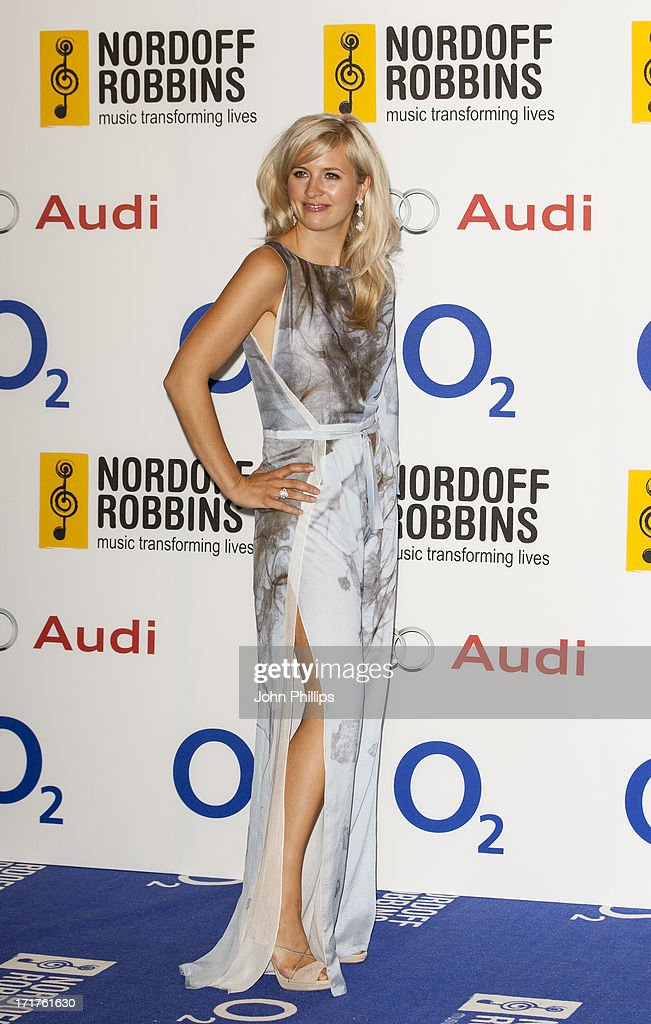 Alison Balsom attends the Nordoff Robbins Silver Clef awards at London Hilton on June 28, 2013 in London, England.