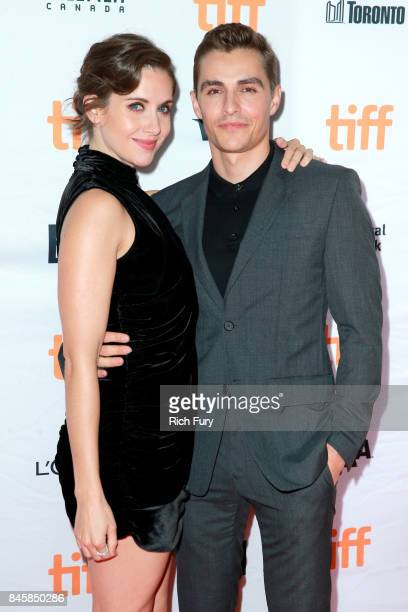 Alison Brie and Dave Franco attend 'The Disaster Artist' premiere during the 2017 Toronto International Film Festival at Ryerson Theatre on September...