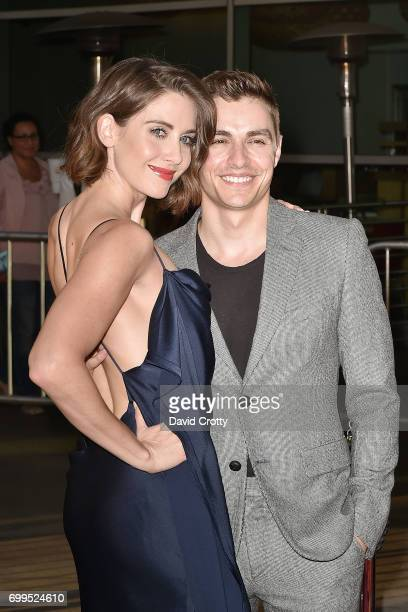 Alison Brie and Dave Franco attend the Premiere Of Netflix's 'GLOW' Arrivals at The Cinerama Dome on June 21 2017 in Los Angeles California
