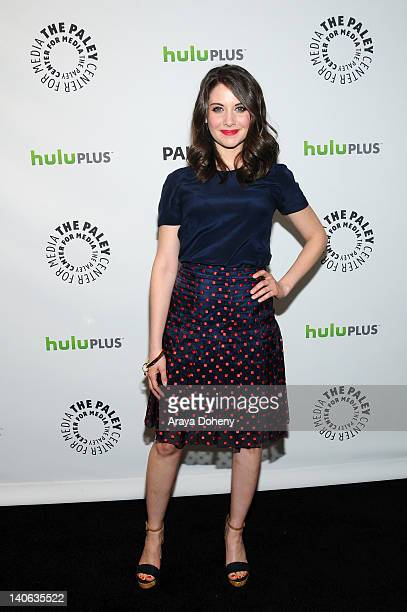 Alison Brie arrives at the PaleyFest 2012 Presents 'Community' at Saban Theatre on March 3 2012 in Beverly Hills California