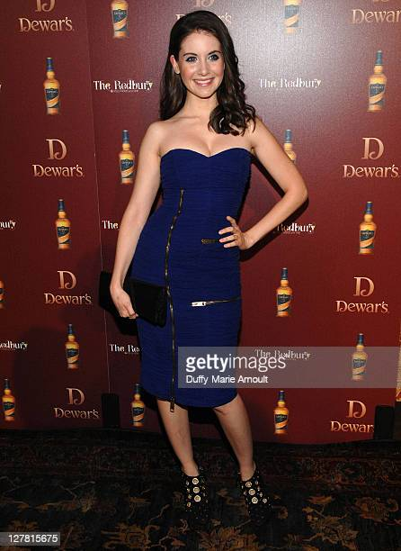 Alison Brie attends Dewar's 'Defining The Modern Man' at The Redbury Hotel on March 23 2011 in Hollywood California