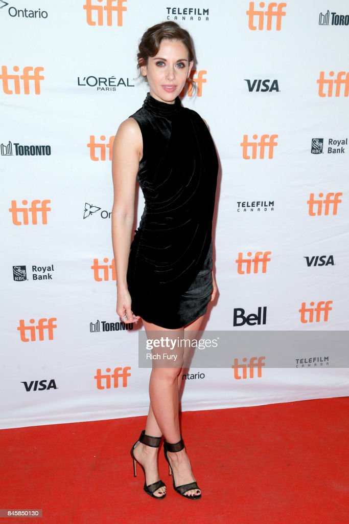 Alison Brie attends 'The Disaster Artist' premiere during the 2017 Toronto International Film Festival at Ryerson Theatre on September 11, 2017 in Toronto, Canada.