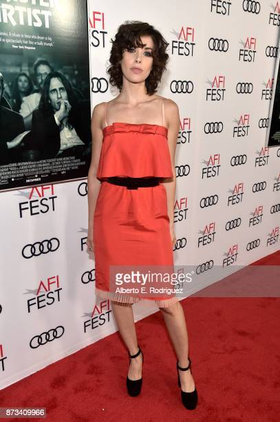 Alison Brie attends the screening of 'The Disaster Artist' at AFI FEST 2017 Presented By Audi on November 12 2017 in Hollywood California