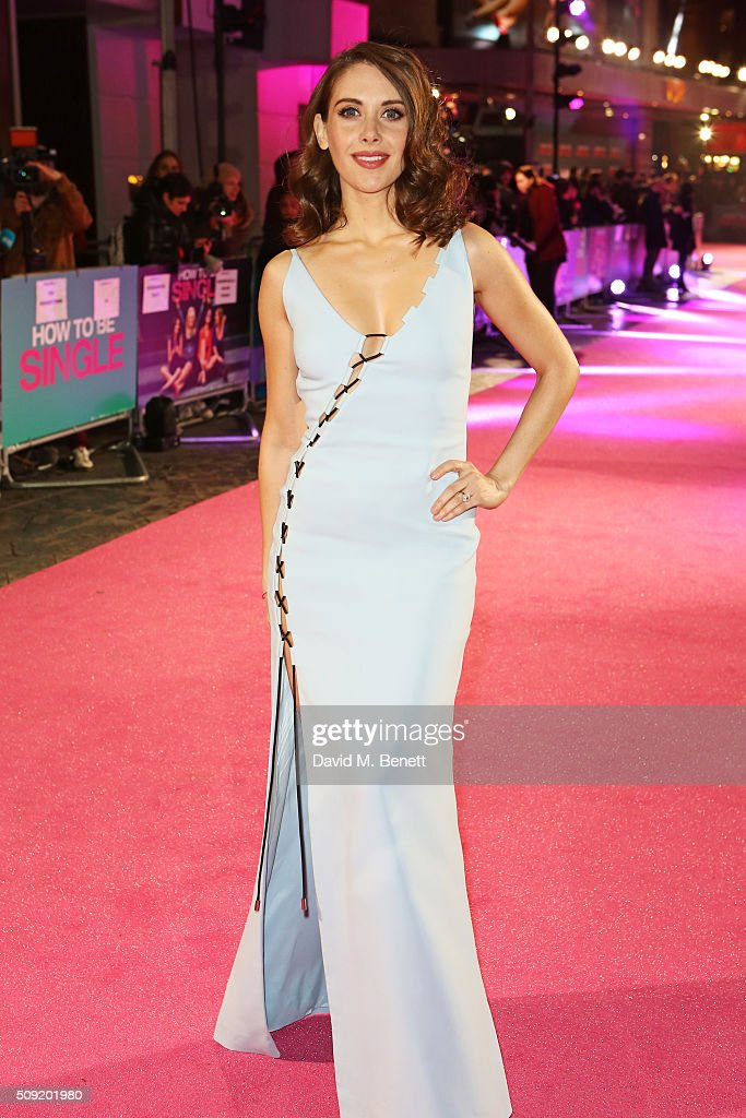 <a gi-track='captionPersonalityLinkClicked' href=/galleries/search?phrase=Alison+Brie&family=editorial&specificpeople=5447578 ng-click='$event.stopPropagation()'>Alison Brie</a> attends the UK Premiere of 'How To Be Single' at Vue West End on February 9, 2016 in London, England.