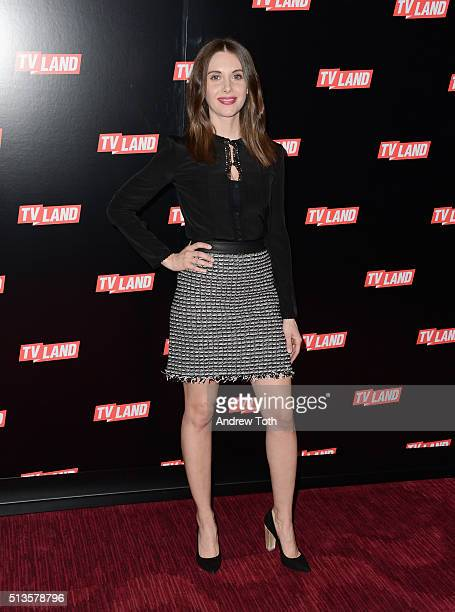 Alison Brie attends the Viacom Kids and Family Group Upfront event at Frederick P Rose Hall Jazz at Lincoln Center on March 3 2016 in New York City