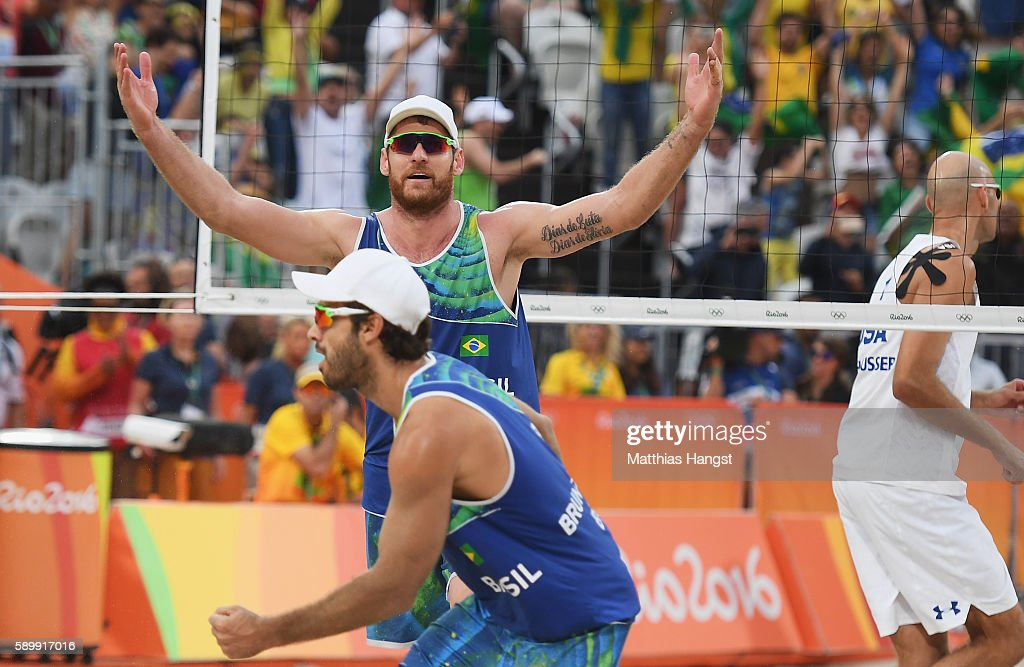 Beach Volleyball - Olympics: Day 10