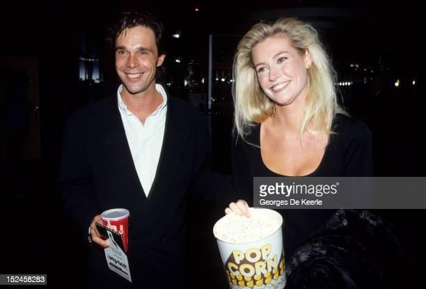 Alison Doody and her boyfriend Mark 1988 circa