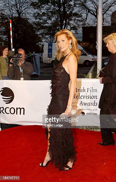 Alison Doody during The Irish Film and Television Awards 2004 Arrivals at The Burlington Hotel in Dublin Ireland