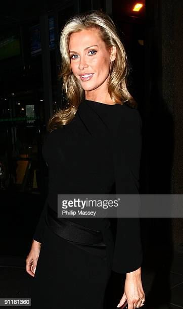 Alison Doody is sighted at the Late Late Show Studios on September 25 2009 in Dublin Ireland