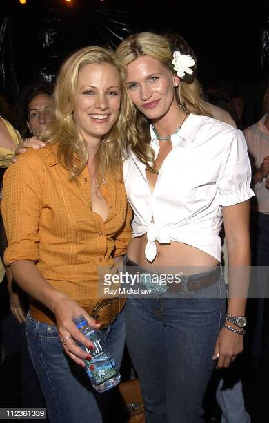 Alison Eastwood and Natasha Henstridge during Alison Eastwood celebrates launch of her new clothing line 'Eastwood Ranch' with Presenting Sponsors...