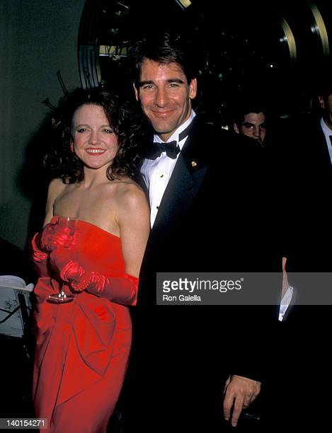 Alison Fraser and Scott Bakula at the Romance/Romance Broadway Opening Night Party Grand Bay Hotel New York City
