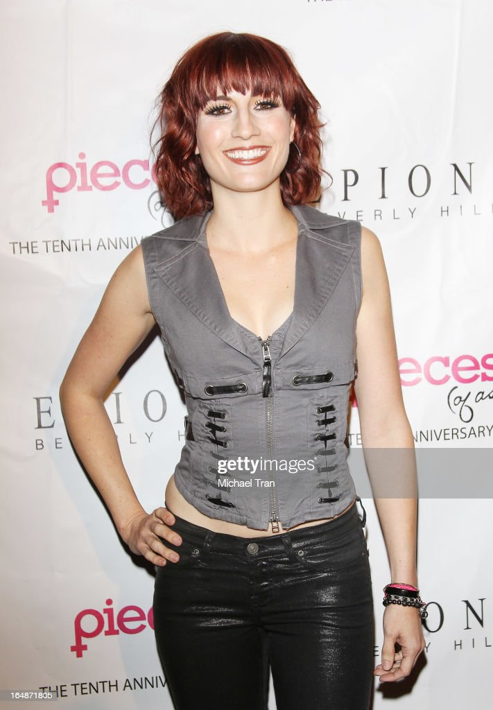 Alison Haislip arrives at 'Pieces(Of Ass)' opening night Los Angeles performance held at The Fonda Theatre on March 28, 2013 in Los Angeles, California.