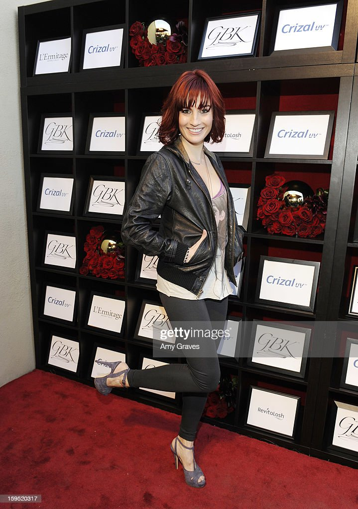 Alison Haislip attends GBK's Luxury Lounge during Golden Globe weekend day 2 at L'Ermitage Beverly Hills Hotel on January 12, 2013 in Beverly Hills, California.
