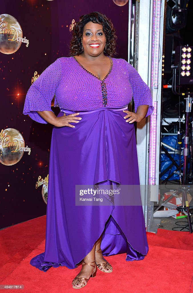 Alison Hammond attends the red carpet launch for Strictly Come Dancing 2014 at Elstree Studios on September 2, 2014 in Borehamwood, England.