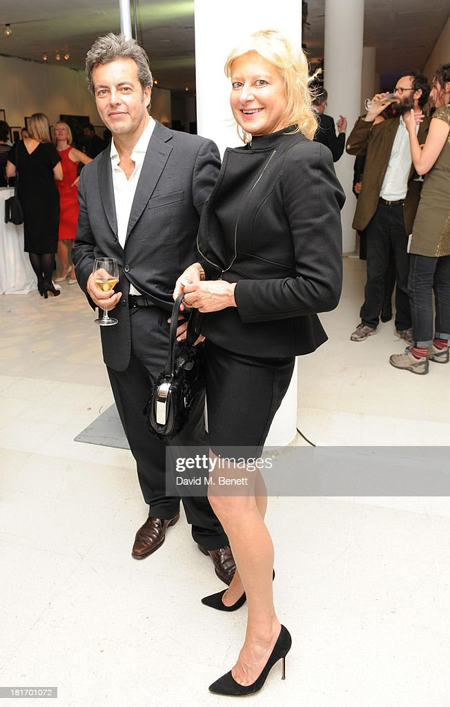 <a gi-track='captionPersonalityLinkClicked' href=/galleries/search?phrase=Alison+Jackson&family=editorial&specificpeople=553317 ng-click='$event.stopPropagation()'>Alison Jackson</a> attends the Macmillan De'Longhi Art Auction at Royal College of Art on September 23, 2013 in London, England.