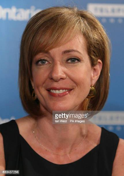 Alison Janney attends a press conference for new film Juno part of the Toronto Film Festival at the Sutton Hotel in Toronto Canada Picture date...