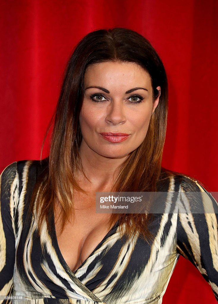Alison King attends the British Soap Awards 2016 at Hackney Empire on May 28, 2016 in London, England.